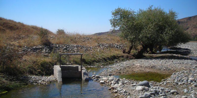Captazione idrica superficiale (Khovaling District - Tajikistan)